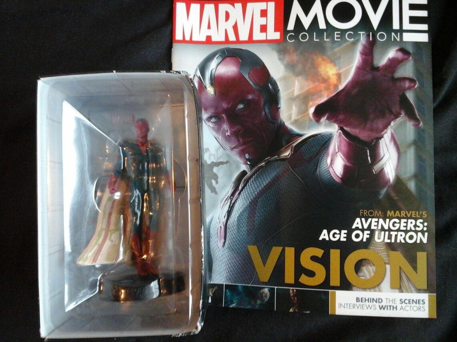 Marvel Movie Collection VISION 34 Avengers Eaglemoss cifra