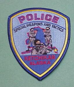 KETCHIKAN ALASKA POLICE PATCH