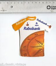 Decal/Sticker - Rabobank Cycling Shirt