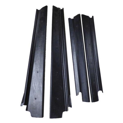 Black Fiberglass Threshold Set For London Taxi Fairway 602963//4//5//6F