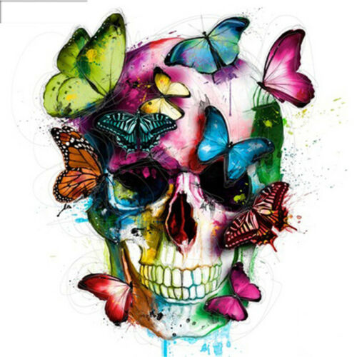Butterfly Skull Full Drill DIY 5D Diamond Painting Embroidery Cross Stitch Kits