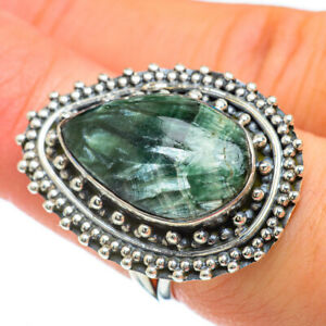 Seraphinite 925 Sterling Silver Ring Size 7 Ana Co Jewelry R47998F