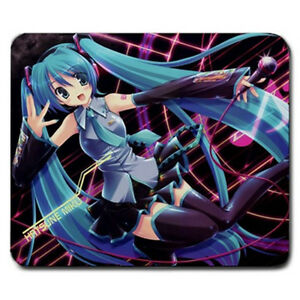 Image Is Loading NEW Vocaloid Hatsune Miku Large Anime Mousepad Japan