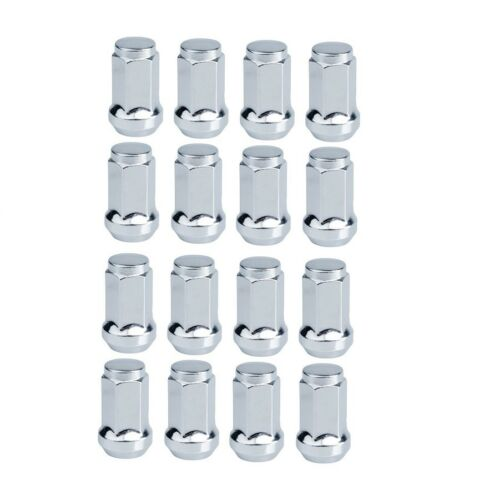 Tusk ATV Tapered Lug Nut 16 Pack 12mm x 1.25mm Thread Pitch Chrome Nuts