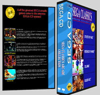 Sega Classics Arcade Collection 1 - Sega Cd Reproduction Art Dvd Case No Game