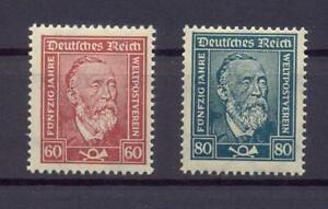 DR-362-63-Weltpostverein-postfrisch-geprueft-Schlegel-rs89