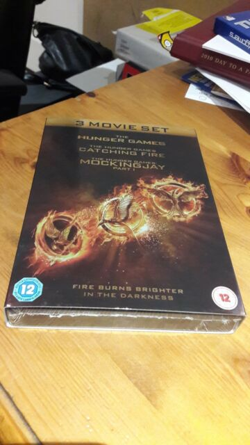 The Hunger Games 3 Movie Set (Brand New Sealed)