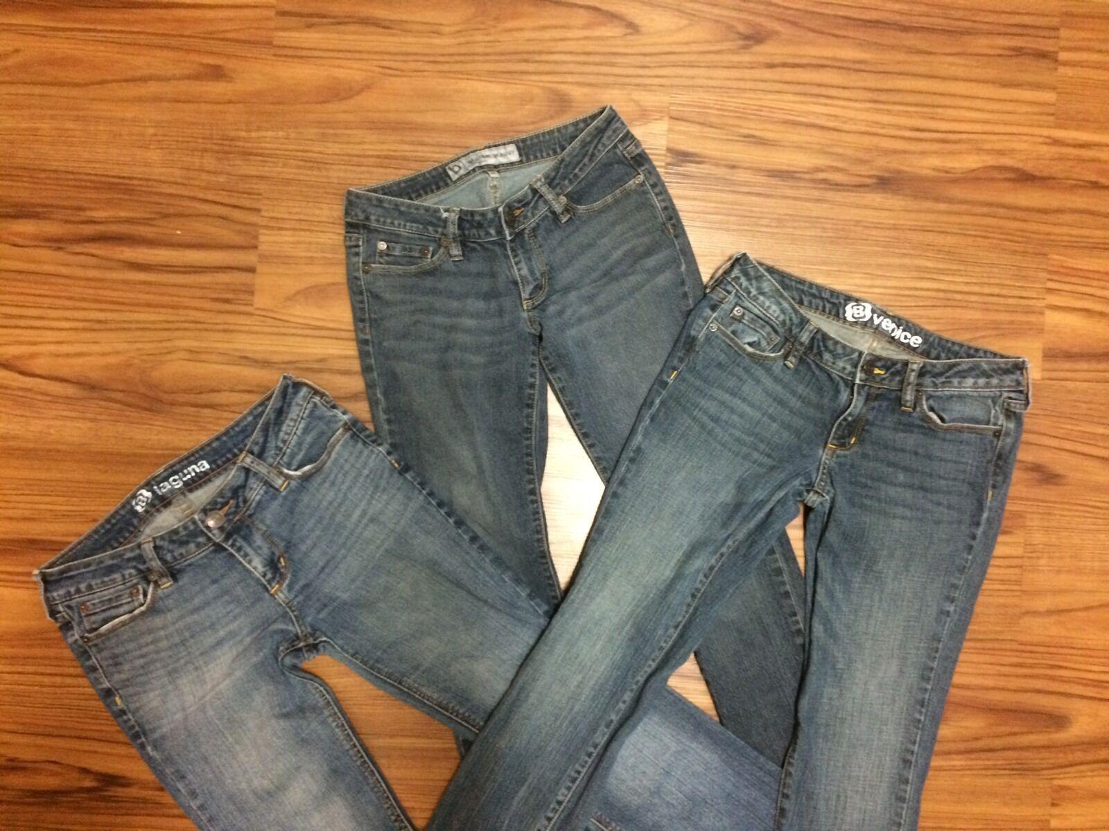 Lot 3 Bullhead Jeans Super Skinny 3 Regular Laguna 7 Long Venice 3 Short
