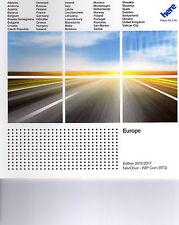 Latest European Sat Nav Discs for Peugeot/Citroen with RT3 Navigation (Full Set)