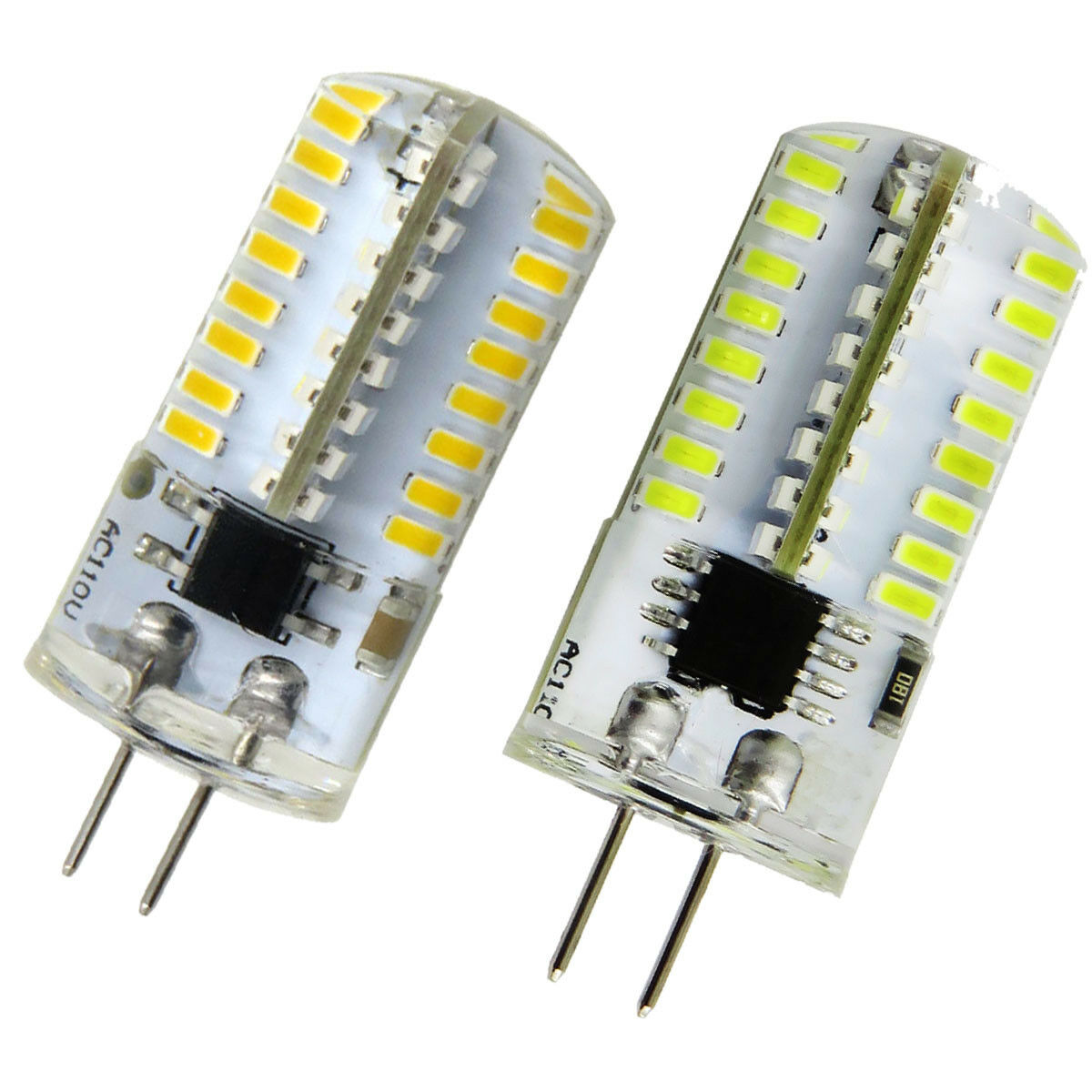 G4 Bombilla LED Lámpara T5 64-3014 SMD luz de Silicona Lámpara de Cristal 2.5 W 110V 220V