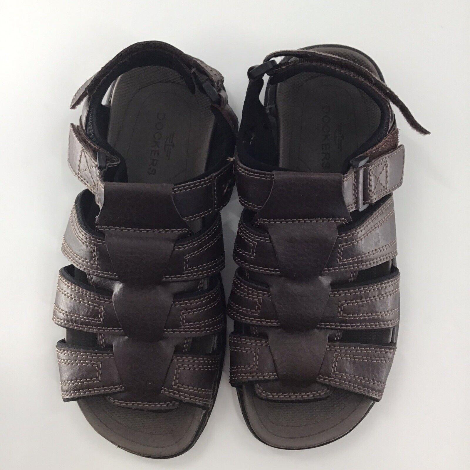 Dockers Men's Casual Comfort Outdoor Sport Sandals Shoes Brown Size 8 M