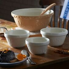 Mason Cash Heritage Ceramic Pudding Basin, 14cm, White, 2001.322