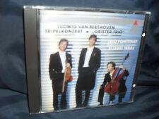 Beethoven - Trippelkonzert / Geister-Trio -Trio Fontenay / Inbal