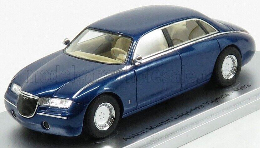 Wonderful KESS-modelvoiture ASTON MARTIN LAGONDA VIGNALE 4-DOOR 1993 -  bleu - 1 43  acheter 100% de qualité authentique