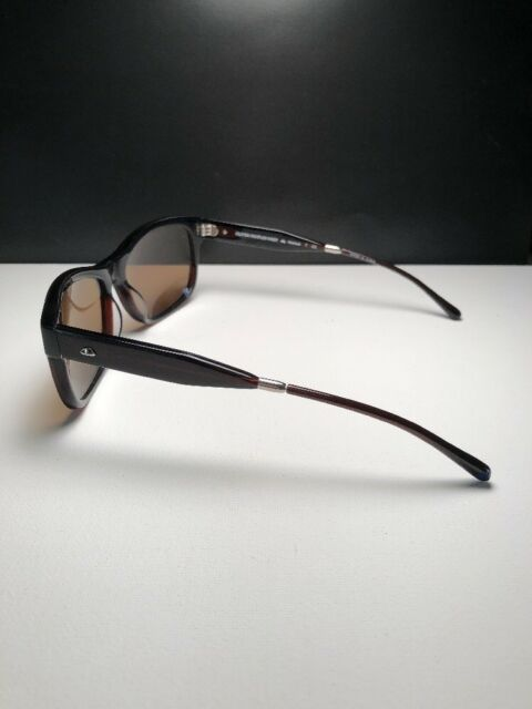 NEW Oliver Peoples Huntley Matte Black Flint Polarized 146581 Sunglasses