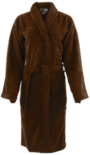 Mens /& Ladies 100/% Cotton Terry Towelling Shawl Bathrobe Dressing Gown Bath Robe