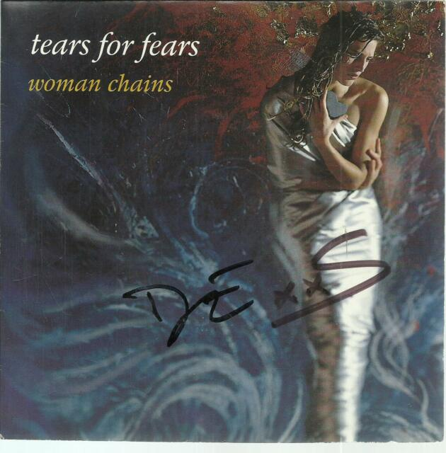 /45 TOURS 2 TITLES / TEARS FOR FEARS WOMAN CHAINS B3