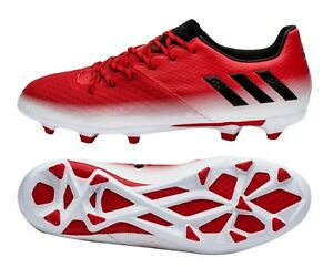 eece80082 Adidas Men MESSI 16.2 FG Cleats Soccer Red Football Shoes Boot Spike ...