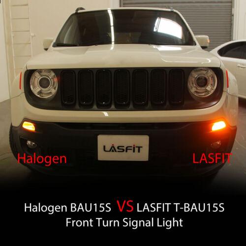 LASFIT BAU15S LED Front Turn Signal Light Bulbs for Toyota//Honda//Nissan//Suzuki