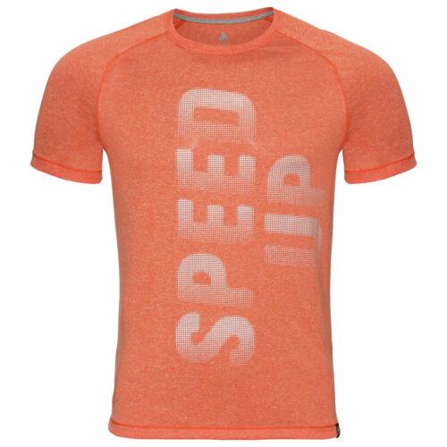 350062-30347 Odlo AION Running T-Shirt Men Runningshirt mit dezentem Aufdruck