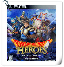 PS3 Dragon Quest Heroes DQH Anryu to Se SONY PlayStation Square Enix Action Game