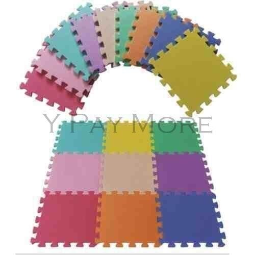New 9 Pc Kids Childrens Baby Puzzle Game Interlocking Soft Foam Play Floor Mat