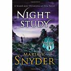 Night Study (The Chronicles of Ixia, Book 8) by Maria V. Snyder (Paperback, 2016)