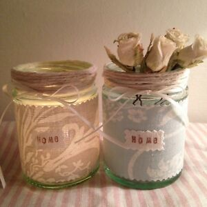 Laura-Ashley-Josette-Tissu-Duck-Egg-Bleu-Gris-Colombe-Photophore-Vase-Maison-Mariage