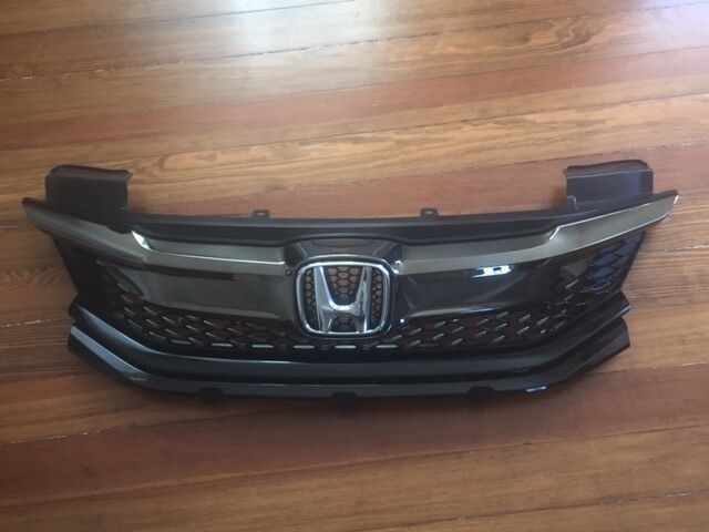 2016 2017 Honda Accord Coupe Front Per Grill Grille Oem 71121 T3l00 For Online Ebay