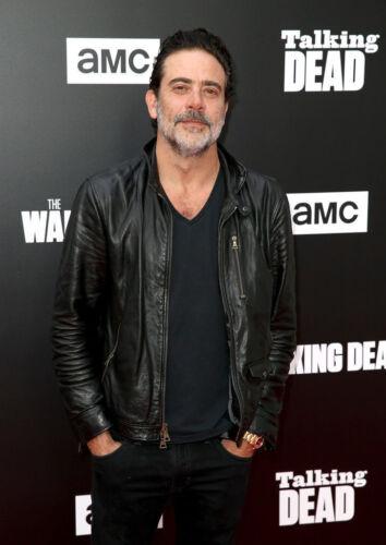 Black Leather Jacket Jeffrey Dean Morgan The Walking Dead Negan