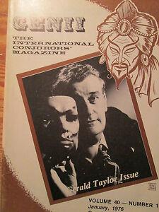 1976-Genii-Magazine-Magic-Gerald-Taylor-Issue-Human-Pin-Cushion-Trick
