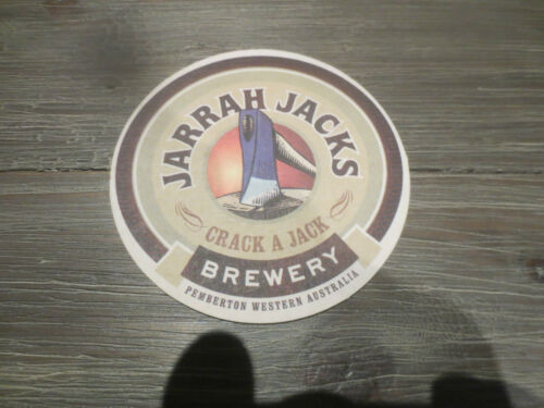 Western Australia collectable COASTER 1 only JARRAH JACKS BREWERY,Pemberton