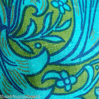 "Vintage Sanderson Arts&Crafts, William Morris Bachelors Button Fabric 18"" x 47"""