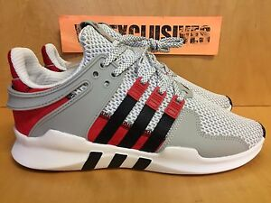 Adidas x Overkill EQT Support ADV Coat of Arms Grey Red Black BY2939 LIMITED