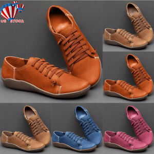 us women vinatge arch support boots leather flat heel