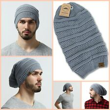 1fdf5149 item 5 Oversized Slouchy Beanie Hat Cable Knit Chunky Men Women Warm Soft  Winter Gray -Oversized Slouchy Beanie Hat Cable Knit Chunky Men Women Warm  Soft ...