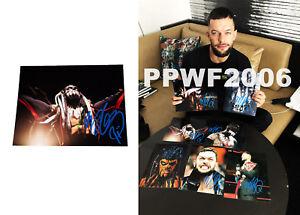 Wwe-Finn-Balor-Firmada-a-Mano-Autografiado-8X10-Foto-con-Foto-Prueba-y-COA