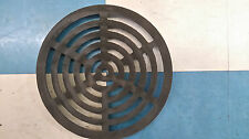 "10.75"" Diameter 273mm 9mm 3/8"" Thick Round Circular Cast Iron Gully Grid / Grate"