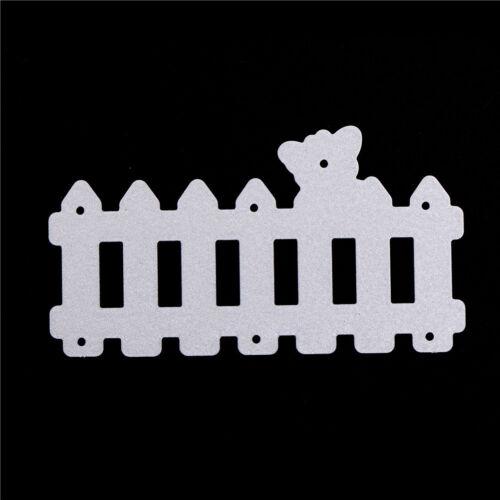 1pcs Fence Cut Dies Stencil Scrapbooking albums Embossing Folder paper DIY RDR
