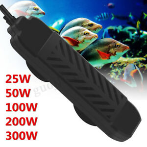 Submersible-Aquarium-Fish-Tank-Water-Heater-25-50-100-200-300W-Thermostat-Shell