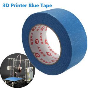 50mx50mm Blue Tape Painters Printing Masking Tool For Reprap 3D Printer