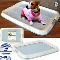 Dog Pad Holder Training Tray Indoor Puppy Potty Exercise Pens Pee Floor Protect
