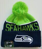 Era Sport Knit Beanie - Seattle Sea Hawks On Field (blue/gray/green)