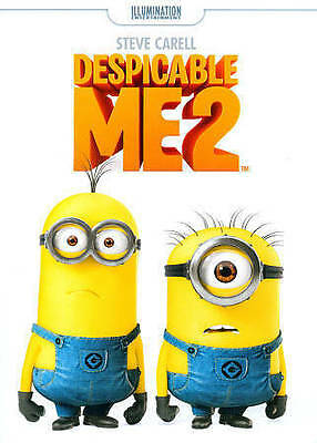 Despicable Me 2 (DVD, 2013) NEW AND SEALED