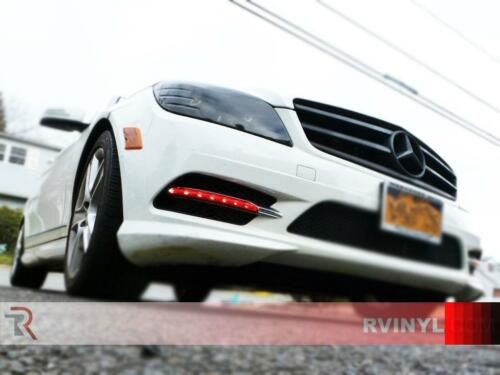 Rtint Headlight Tint Precut Smoked Film Covers for Porsche Panamera 2010-2013