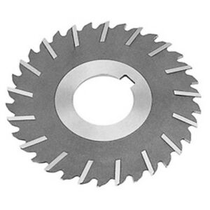 "5//32/"" Thick x 3/"" Diameter x 1/"" Arbor Hole 30 Teeth HSS Plain Slitting Saw"