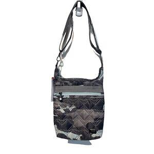 lug life skipper 2.0 camo ice shoulder pouch crossbody purse