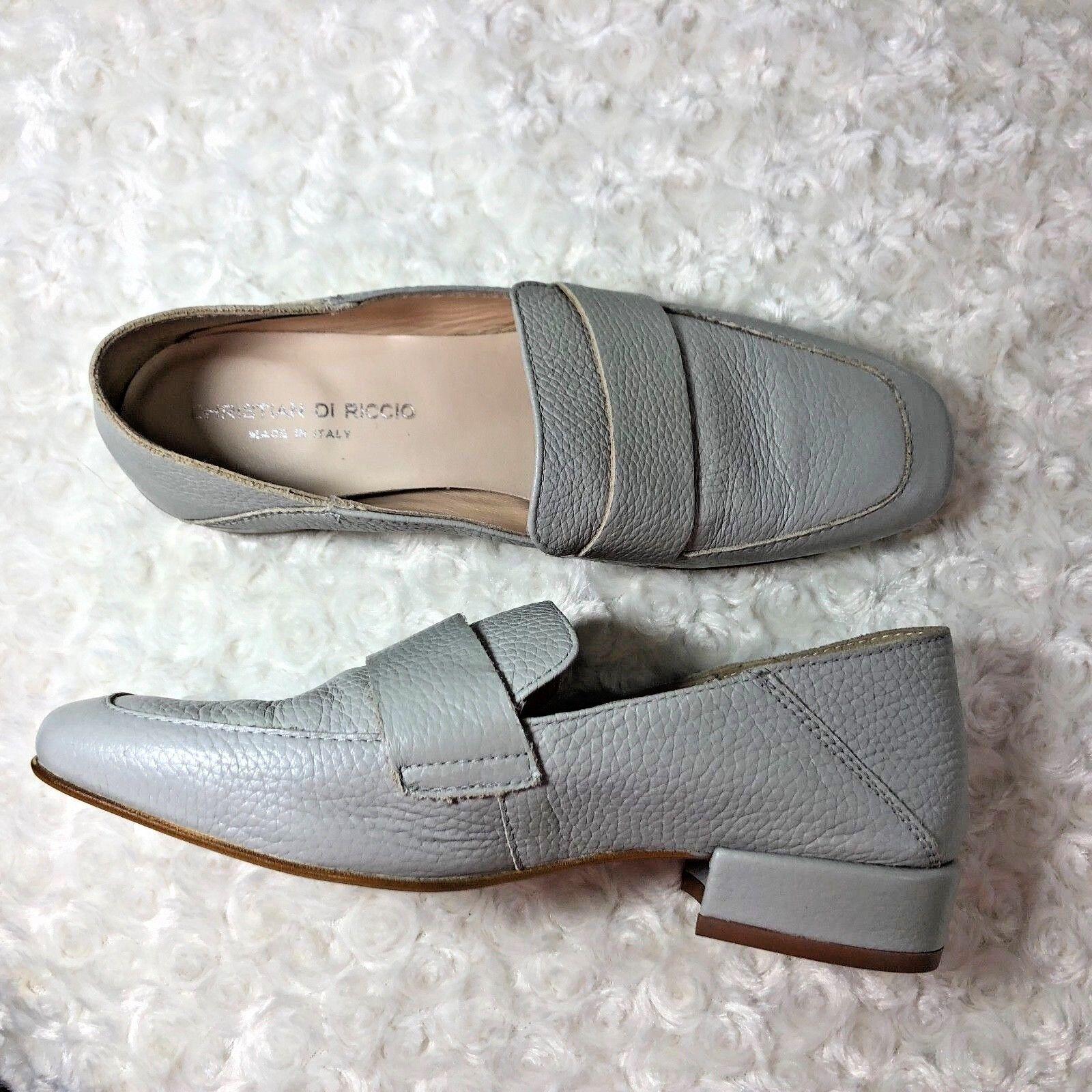Cristiano di Riccio Italia Italia Italia Para Mujer Talla 7.5 8 38 Cuero Sin Cordones Mocasín Zapatos  Venta en línea precio bajo descuento