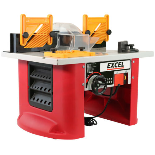 Excel table Routeur Cutter 240 V avec Vitesse Variable Motor 1500 W