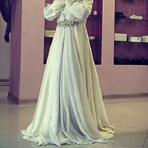d916b903de5 ✿Girl in Hijab Long Maxi Party Wedding Dress Abaya Muslim Jilbab ...